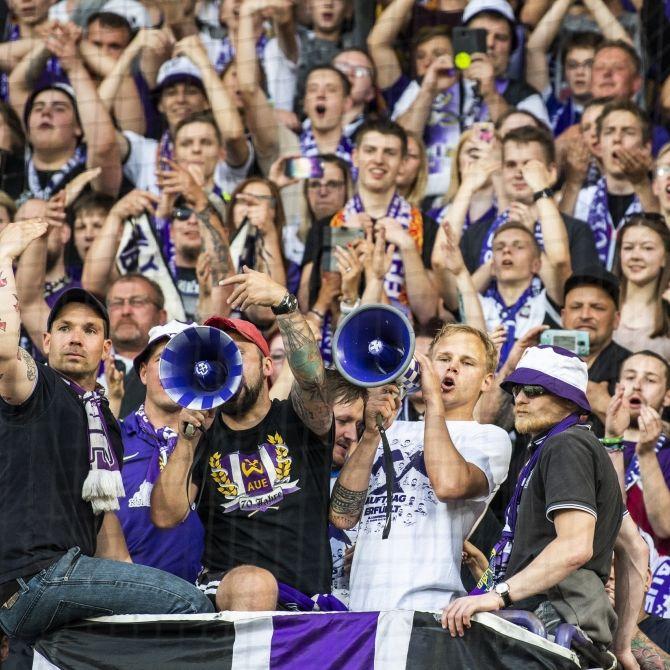 FC Erzgebirge Aue gewinnt mit 4 : 1 in einer fairen Partie (Foto)