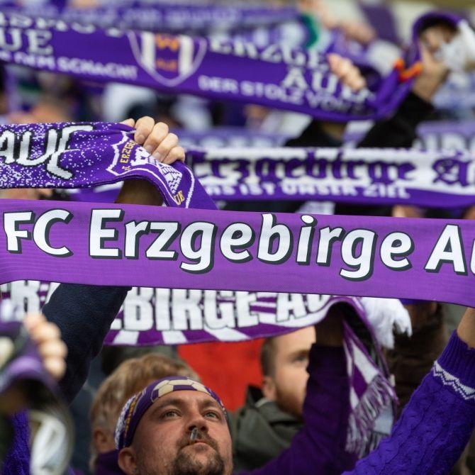 Unentschieden zwischen FC Erzgebirge Aue und HSV (Foto)