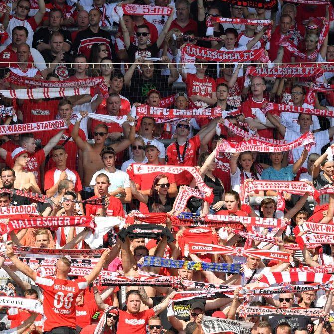 Unentschieden zwischen Hallescher FC und Lautern (Foto)