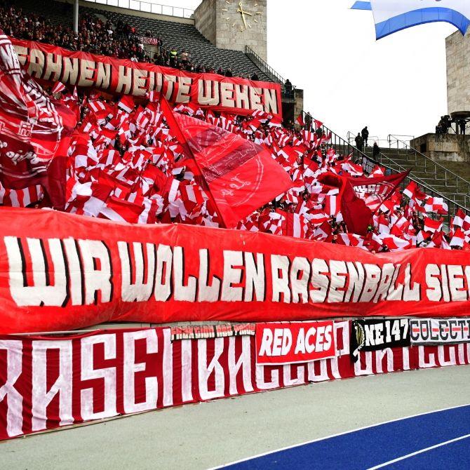 RB Leipzig siegt mit 3 : 0 (Foto)