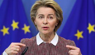 EU-Kommissionspräsidentin Ursula von der Leyen hat eingeräumt, dass das Coronavirus auch von der Politik unterschätzt worden ist. (Foto)