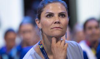 Kronprinzessin Victoria von Schweden plagen derzeit heftige Sorgen um ein geliebtes Familienmitglied. (Foto)