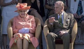 Queen Elizabeth II. und Prinz Philip wollen die Coronavirus-Krise gemeinsam durchstehen. (Foto)