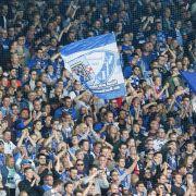 Der VfL Bochum wird von seinen Fans mit ganzer Kraft unterstützt. (Symbolmarkt) (Foto)
