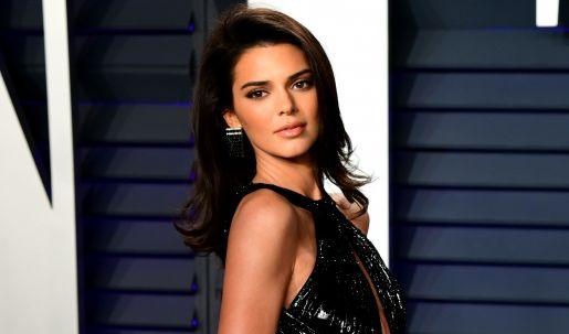 Kendall Jenner halbnackt