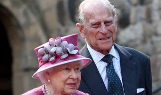 Queen Elizabeth sorgt sich um ihren Mann Prinz Philip. (Foto)