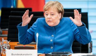 Hat Angela Merkel in ihrer Corona-Rede eine geheime Botschaft versteckt? (Foto)
