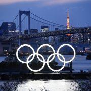 Die Olympischen Spiele werden verschoben.
