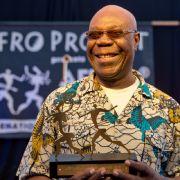 Manu Dibango,kamerunischer Saxofonist und Komponist