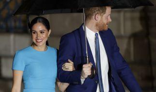 Prinz Harry und Meghan Markle bauen sich ein Haus in England. Wollen sie den Megxit rückgängig machen? (Foto)