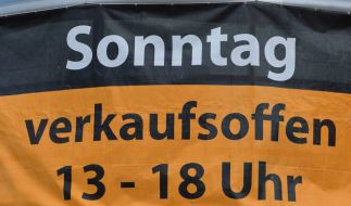 Auf verkaufsoffene Sonntage müssen die Deutschen aktuell erst einmal verzichten. (Foto)