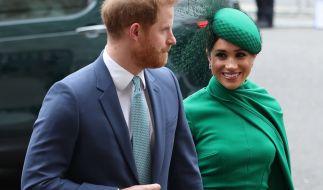 Meghan Markle verbietet Prinz Harry nach Großbritannien zu reisen. (Foto)