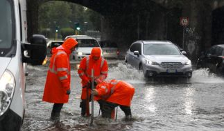 """In Süditalien steigt das Überschwemmungsrisiko aufgrund von Tiefdruckgebiet """"Liebgard"""". (Foto)"""