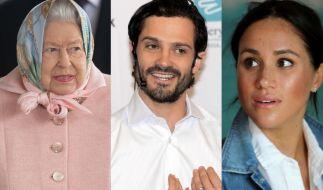 Royals wie Queen Elizabeth II., Prinz Carl Philip von Schweden oder Meghan Markle haben ungeahnte Talente. (Foto)