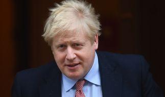 Der britische Premierminister Boris Johnson wurde positiv auf das Coronavirus getestet. (Foto)