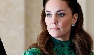Die Trennung von Prinz Harry soll Kate sehr nahe gehen. (Foto)