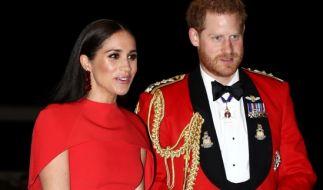Meghan Markle und Prinz Harry verabschieden sich von ihrem royalen Leben. (Foto)