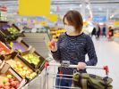 Coronavirus-Maßnahmen in Supermärkten