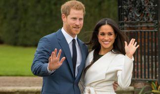 Prinz Harry und Meghan Markle nach Bekanntgabe ihrer Verlobung. (Foto)