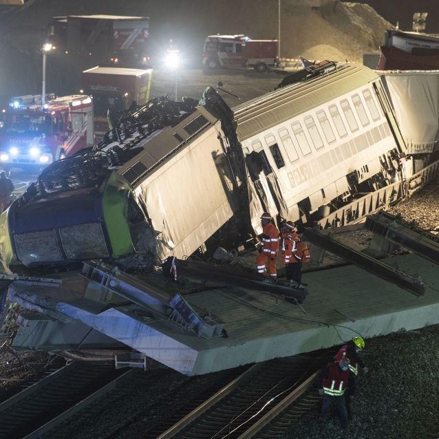 Lokführer totl!Brücken-Abriss war DIESES Wochenende geplant (Foto)