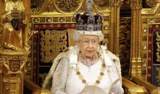 Queen Elizabeth II. hält am Sonntagabend, um 21 Uhr MEZ, ihre langersehnte Corona-Rede. (Foto)