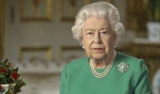 Queen Elizabeth II. hat in ihrer historischen Rede das britische Volk beschworen Durchhaltevermögen zu zeigen. (Foto)