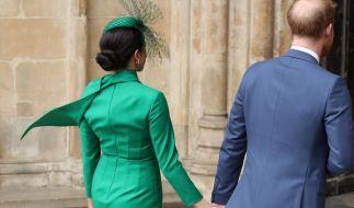 Meghan Markle und Prinz Harry legen jetzt eine Pause ein. (Foto)