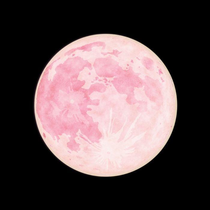 Riesiger Pink Moon erhellt heute den Himmel (Foto)