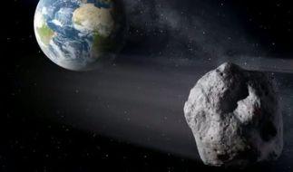 Am Mittwoch kommt ein Asteroid der Erde fast so nah wie der Mond. (Foto)