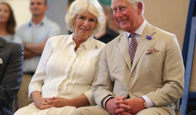 Prinz Charles mit Camilla Parker-Bowles