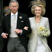 Prinz Charles und Camilla Parker Bowles heirateten am 9. April 2005.