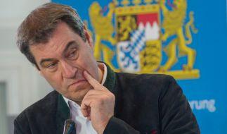 CSU-Chef Markus Söder hat mit seinem Auftreten in der Coronakrise Sympathiepunkte bei den Wählern eingefahren. (Foto)