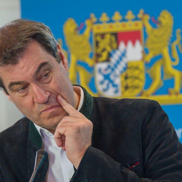Umfrage-Hoch! CSU-Chef Söder überflügelt Merz und Laschet (Foto)