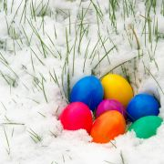 10 Zentimeter Neuschnee! Polare Kaltfront kühlt Osterfeiertage ab (Foto)