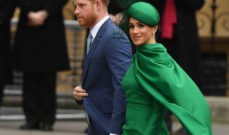 Laut einer Insiderin flogen zwischen den Angestellten des Buckingham-Palastes und der Herzogin Meghan Markle die Fetzen. (Foto)