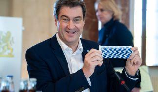 Markus Söder schneidet in aktuellen Umfragen sehr gut ab. (Foto)