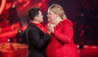 """Ilka Bessin und Erich Klann werden auch in der 7. Show von """"Let's Dance"""" 2020 um die Gunst von Jury und Publikum tanzen. (Foto)"""