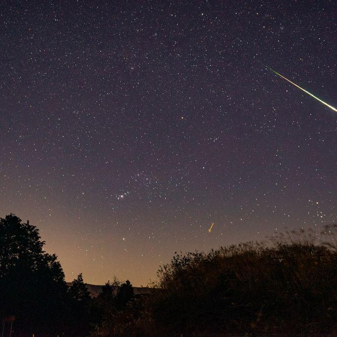 Sternschnuppen-Spektakel! 20 Meteore pro Stunde heute Nacht (Foto)
