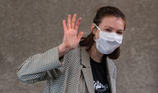 Das Tragen von Mund-Nase-Masken ist in Sachsen und Bayern im Kampf gegen das Coronavirus bereits zur Pflicht erhoben worden. (Foto)