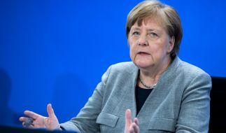 Bundeskanzlerin Angela Merkel hat sich am 20. April nach der Sitzung des Corona-Kabinetts geäußert. (Foto)