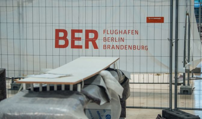 Hauptstadtflughafen BER öffnet
