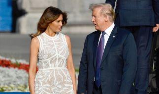 Happy Birthday, Melania Trump! Die First Lady wird 50 Jahre alt. (Foto)