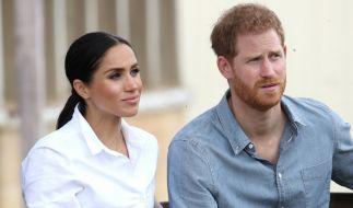 Eigentlich hatten Prinz Harry und Meghan Markle der Presse abgeschworen - doch nun suchten sie erneut das Rampenlicht. (Foto)