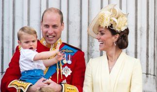 Kate Middleton und Prinz William sahen sich gezwungen, ihren Kindern Notlügen aufzutischen. (Foto)