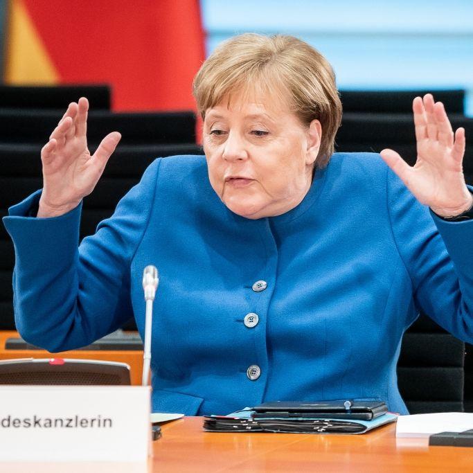 """Keine """"Endphase der Pandemie""""! Bundeskanzlerin malt düsteres Szenario (Foto)"""