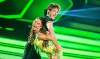 """Kletterprofi Moritz Hans und Renata Lusin tanzen auch in der 8. Show von """"Let's Dance"""" um die Gunst von Jury und Zuschauern. (Foto)"""