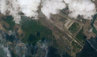 Zieht eine radioaktive Wolke von Tschernobyl nach Deutschland? (Foto)
