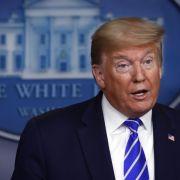 Sarkasmus? Trump rudert nach Desinfektionsmittel-These gegen Covid-19 zurück (Foto)