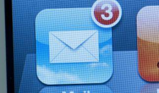 US-Sicherheitsexperten haben eine gefährliche Sicherheitslücke in der Mail-App von iPhones entdeckt. (Symbolfoto) (Foto)