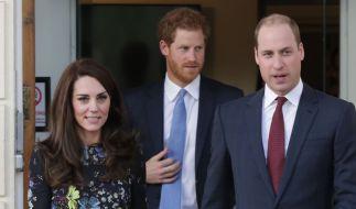 Kate Middleton, Prinz William und Prinz Harry in den Royal-News der Woche. (Foto)